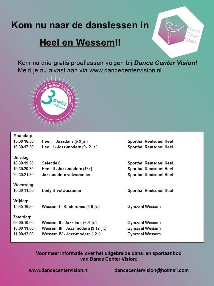 Poster 2015-2016 Heel en Wessem